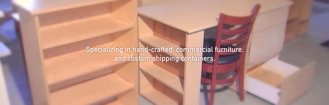Desk – Specializing in hand-crafted, institutional furniture.